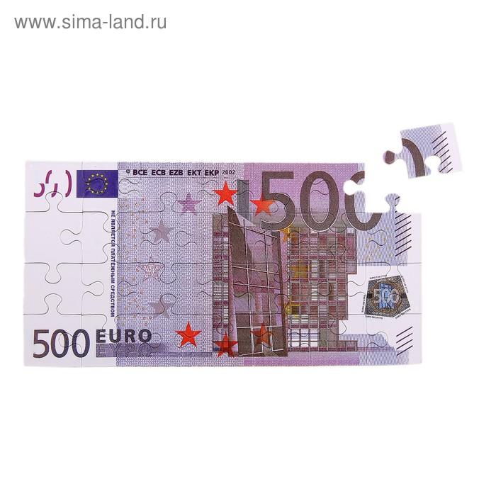 """""""Купюра 500 евро"""" магнит-пазл"""