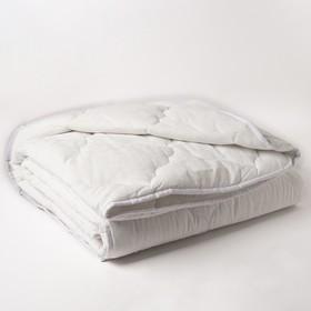 """Одеяло всесезонное Адамас """"Лебяжий пух"""", размер 172х205 ± 5 см, 300гр/м2, чехол поплин"""
