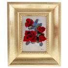 """Картина """"Розы на синем"""""""