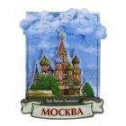 Магнит многослойный «Москва»