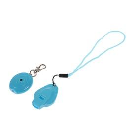 Брелок для поиска ключей со свистком, пластик, МИКС