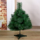 Cedar green 60 cm, d of the needles 10 cm, d of lower layer 50 cm, 35 branches, plastic stand