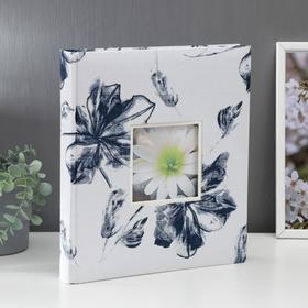 """Фотоальбом  """"Цветы"""" 29х32 см. 30 листов"""