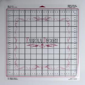 """Универсальный коврик для плоттера """"Fabrika Decoru"""" 30,5х30,5 см, прозрачный"""