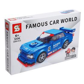 """Block constructor """"Sports Car"""", 339 parts"""