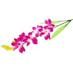 Цветы искусственные 'Бело-фиолетовая орхидея Гуарианте' Ош
