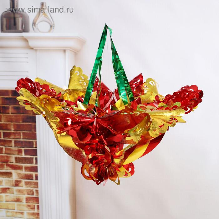 """Новогоднее украшение """"Матовая бабочка"""""""