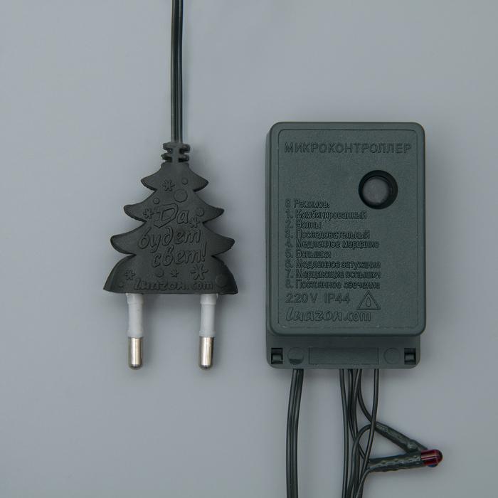 НИТЬ, 15 м, Н.Т. 400 ламп, 220V, 8 режимов, МУЛЬТИ - фото 13801716
