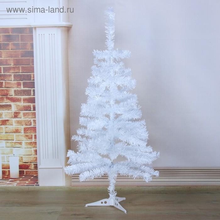 Ёлка белая (пластиковая подставка)