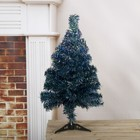 Tree rainbow blue 60 cm, d of the needles 6 cm, d of the lower tier 34 cm, 60 branches, plastic stand