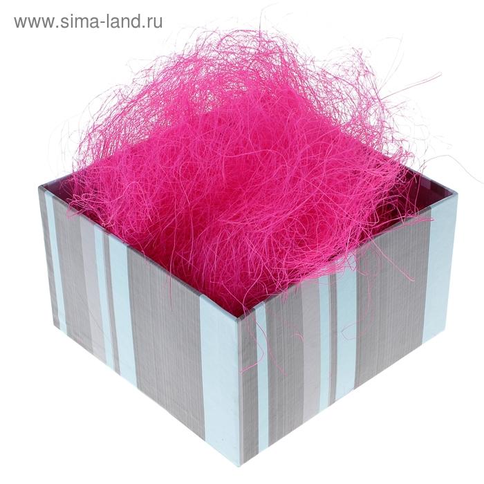 Наполнитель декоративный 50 гр розовый, сизаль