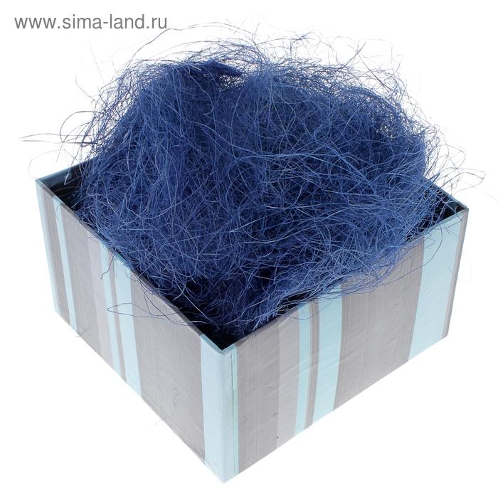 Наполнитель декоративный 50 гр синий, сизаль