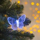 """Подвеска световая """"Бабочка"""", 8,5 см, 1 LED, RGB"""