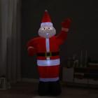 """Надувная фигура """"Дед Мороз"""" приветствует, 180 см - фото 875804"""