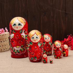 """Матрёшка 7-ми кукольная """"Кира""""  , 23-25см, ручная роспись."""