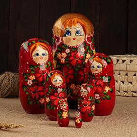 "Матрёшка 7-ми кукольная ""Лара""  , 23-25см, ручная роспись."