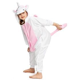 Кигуруми для детей «Единорог розовый», размер XS