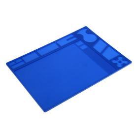 Антистатический силиконовый коврик Yihua 154420, 360х260 мм, горячий воздух 300°С