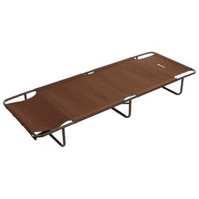 Кровать походная NISUS, 140 кг, цвет коричневый