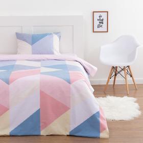 Комплект постельного белья 1.5 сп LoveLife «Минимализм», 143х215 см, 150х214 см, 50х70 см-1 шт
