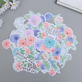 """Набор высечек """"Flower mood"""" 63 шт"""