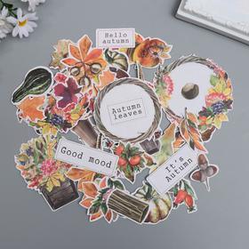 """Набор высечек """"Botany autumn redesign"""" 56 шт"""