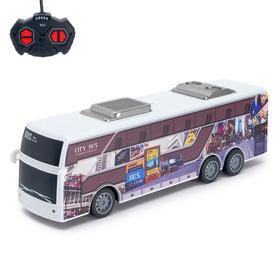 """Автобус радиоуправляемый """"Междугородний"""", работает от аккумулятора"""
