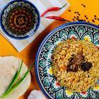 """Canned food """"Uzbek Pilaf"""", 525gr"""