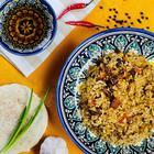"""Canned food """"Uzbek Pilaf with raisins"""", 525gr"""