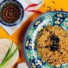 """Canned food """"Uzbek Pilaf with prunes"""", 525gr"""