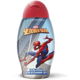 Гель-пена «Человек-паук» 2 в 1, 400 мл