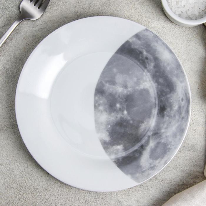 Тарелка десертная Доляна «Вселенная», d=19 см - фото 7683039