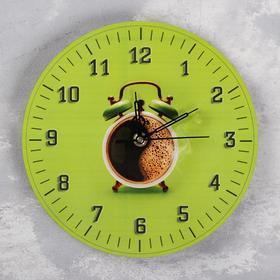 """Часы настенные """"Доброе утро"""", d=23.5. плавный ход, стрелки микс"""