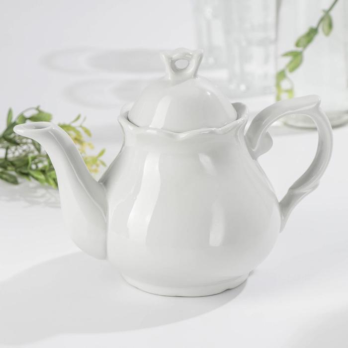 Чайник «Белая», 1 л - фото 7683020