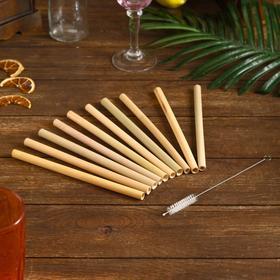 {{photo.Alt || photo.Description || 'Трубочки для коктейля 10 шт 20х12х1 см бамбук'}}