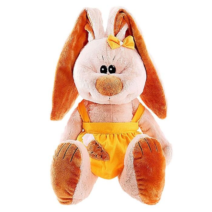 Мягкая игрушка «Зайка Лапочка» МИКС - фото 1567619