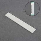 Nail file-emery, abrasiveness, 200/200, 18cm, wide, color grey