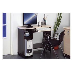 Стол компьютерный «Костер 3», 1122 × 450 × 747 мм, цвет венге / клён азия