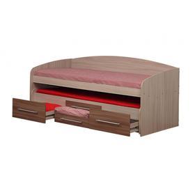 Кровать двухъярусная «Адель 5», 80 × 190 см, цвет ясень шимо светлый / ясень шимо тёмный