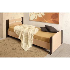 Кровать, 90 × 200 см, цвет дуб молочный / венге
