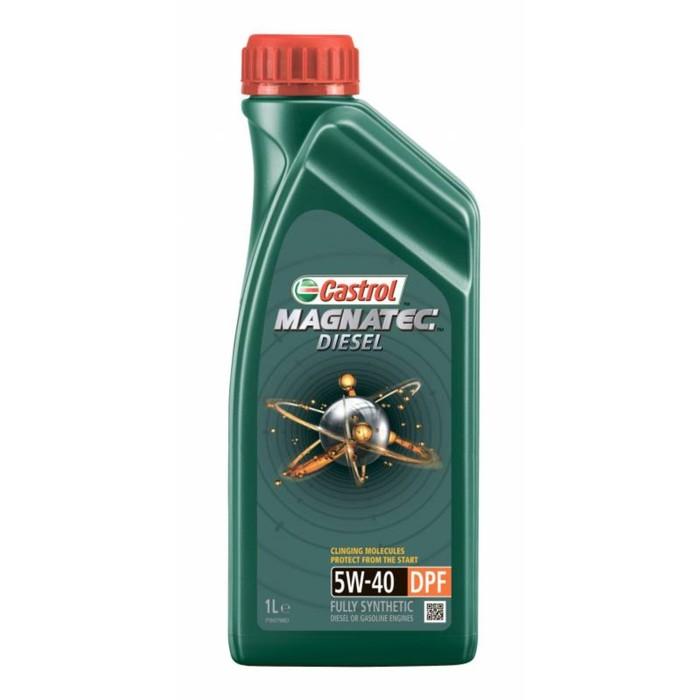 Моторное масло Castrol Magnatec Дизель SAE 5W-40 DPF, 1 л