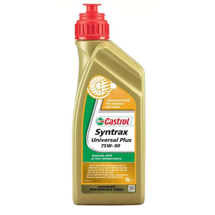 Трансмиссионное масло Castrol Syntrax Universal Plus 75W-90, 1 л