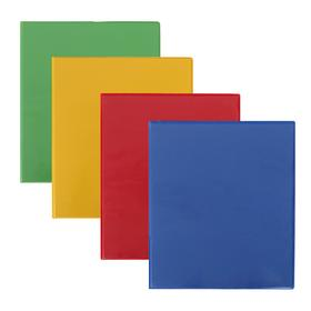 Folder on 4 rings with front transparent pocket, A4 format, 30 mm, MIX, up to 160 sheets