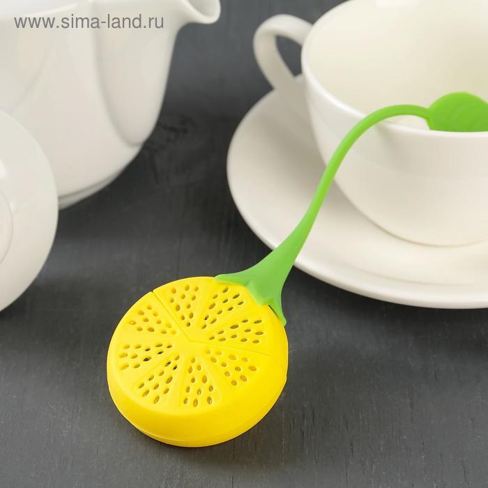 """Tea strainer 10x5 cm """"Lemon"""", MIX colors"""