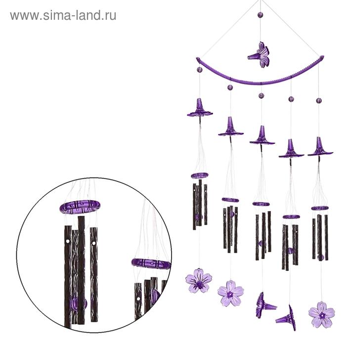 """Музыка ветра """"Дуга"""" 20 трубочек, 11 фигурок"""