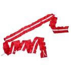 Лента на капот «Волн», шёлк, 3.2м, красная