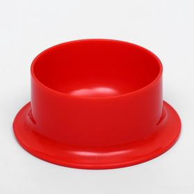 Миска для грызунов 120  мл, красный