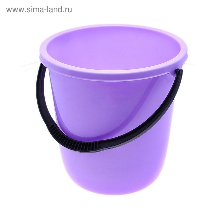 "Ведро пластиковое 10 л ""Нео"", цвет лаванда"