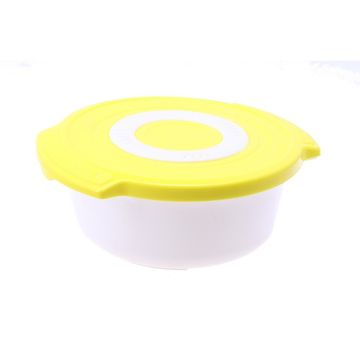 Кастрюля 0,9 л для СВЧ Galaxy, круглая, цвет МИКС
