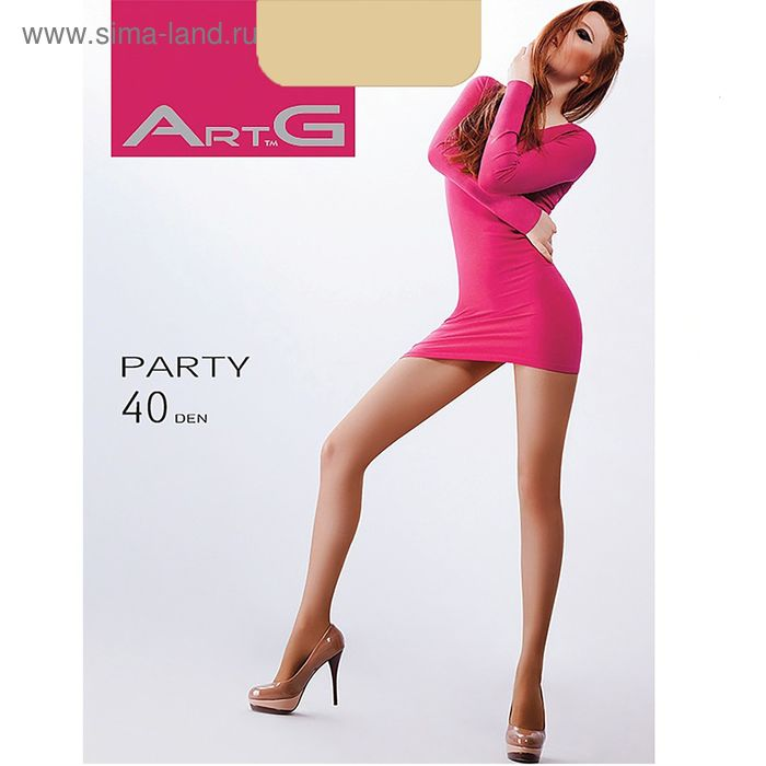 Колготки женские ARTG PARTY 40 (daino, 4)